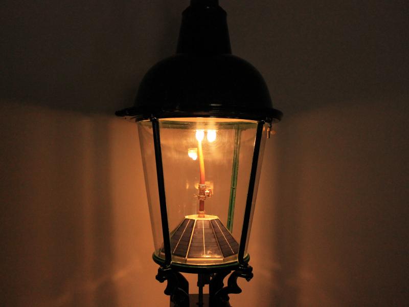 Gas Destructor Conversion Heritage, Gas Lamp Light