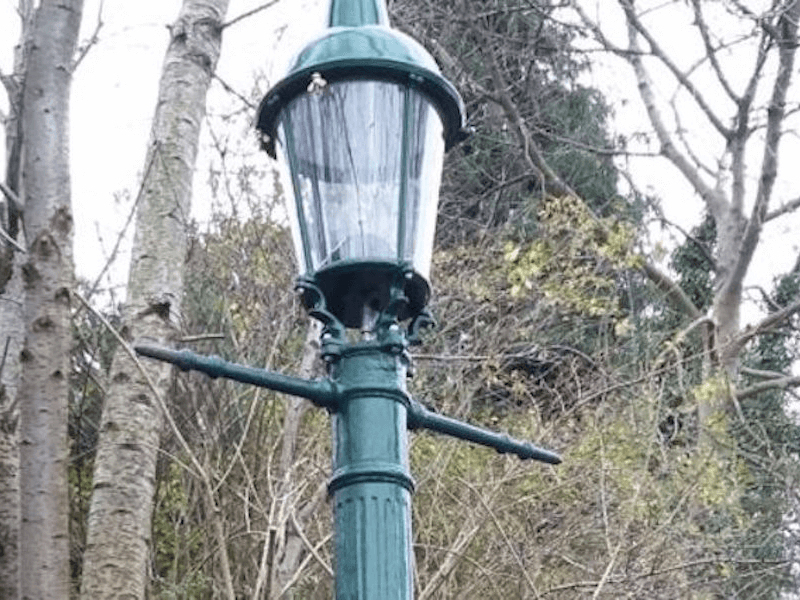 News: Historic Gas Lamps to Shine Again..