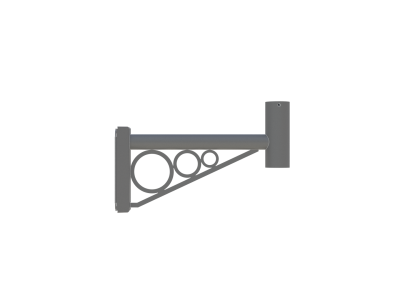 wall mounted decorative bracket